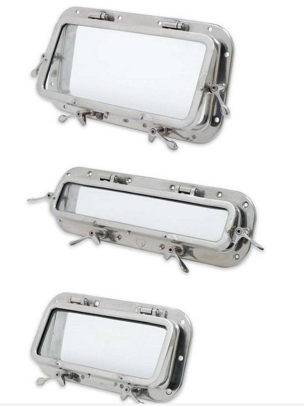 Aluminum Oval Portlight Marine Porthole Windows With