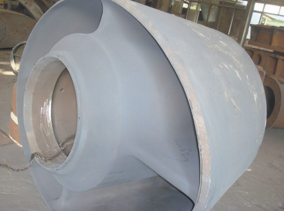 Normalizing 3 tons to 150 tons Low Carbon / Alloy Steel Rudder Horns