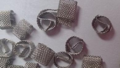 Bezel Setting Marine Steel Products , Metal Stainless Steel Wire Mesh Dixon Rings