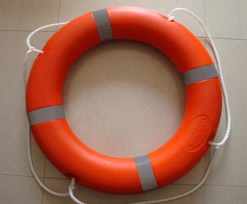 Marine Life Saving Equipment For Rescue , Life Buoy Rescue Ring / Marine Life Buoy