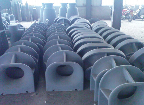 Ships Mooring Components Marine Cast Steel Panama Chocks Type