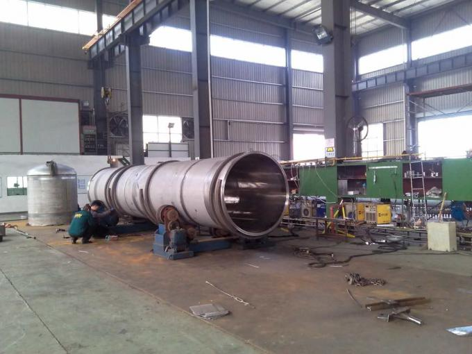 Mirror Polish Horizontal Pressure Vessel Tank Pressure Sealed Tank
