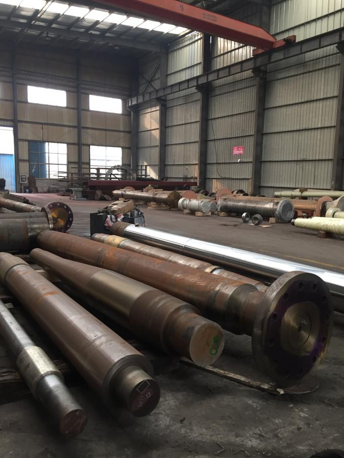 OEM Service Marine Propeller Shaft And Rudder Shaft Chrome Plating