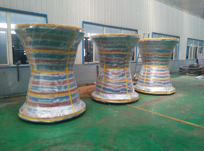 Convenient Cone Type Rubber Fender Marine Fendering Durable 15 Years