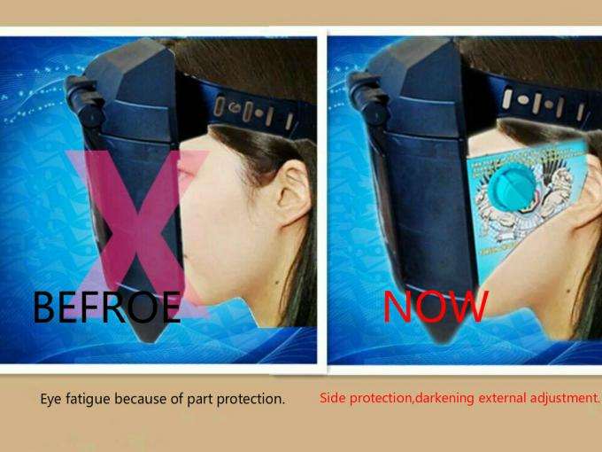 Automatic Welding Material Adjust Darkening Welding Mask Avoid Eye Fatigue