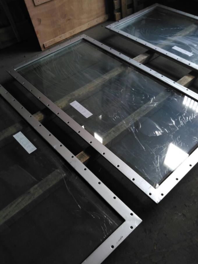 Ordinary Replacement Boat Windows / Soundproof Hollow Marine Replacement Windows