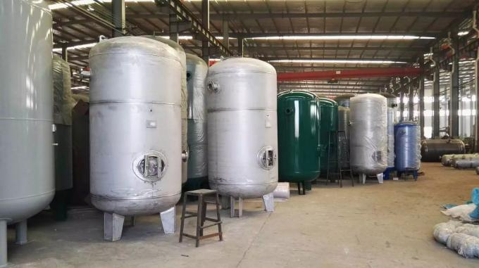 Vertical / Horizontal Pressure Vessel Tank with Carbon Steel Stainless Steel Material