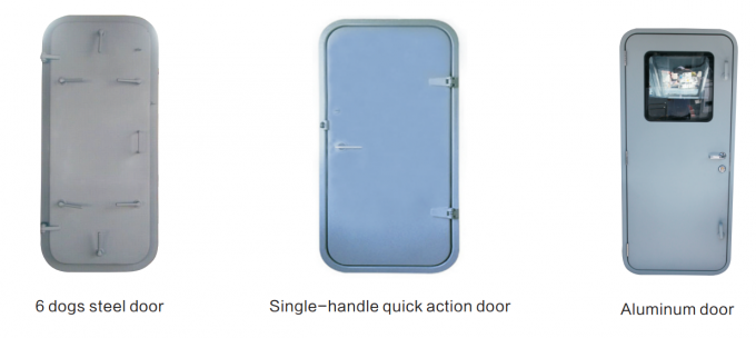 Marine Weathertight Access Door For Ship's Accommodation Bulwarks