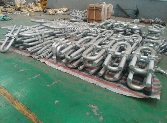 Cusomized Steel Products For Marine Fendering System U Bolt Anchorage Bolt
