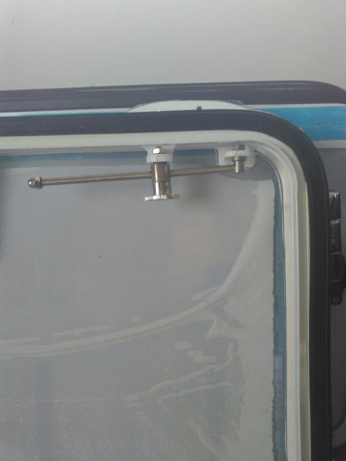 Aluminum Material Frame Rectangular Openable Weathertight Boat Windows