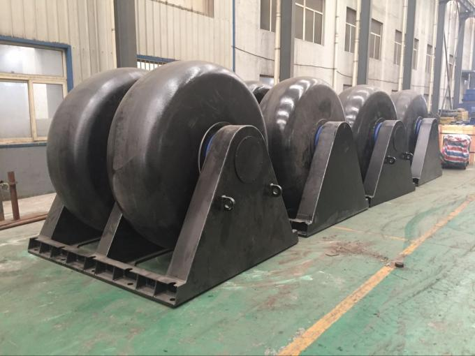 Large Loading Double Roller Wheel Type Marine Roller Wheel Rubber Fender