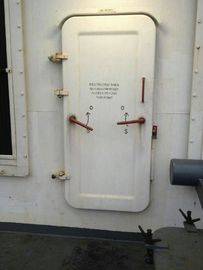 China Water Tight Marine Doors / Ship Access Door With Round Window Handle Quick Open supplier
