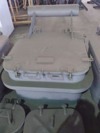 China Round Angles Marine Steel Hatch Cover Crude Oil Tanker Cover Customized supplier