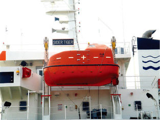 China OEM / ODM Gravity Hinge Type Rescue Boat Davit For Lifeboat Launching supplier