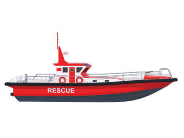 China Offshore Area Marine Life Saving Equipment , Open Sea Rescue Patrol Boat supplier