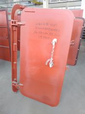 China Single Handle Quick Opening And Closing Weathertight Steel Door supplier