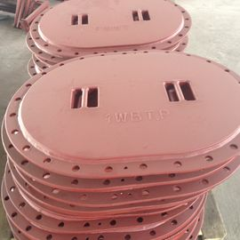 China Marine Steel Sunk Manhole Cover With Watertight And Oiltight Structure supplier