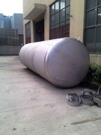 China Mirror Polish Horizontal Pressure Vessel Tank Pressure Sealed Tank supplier
