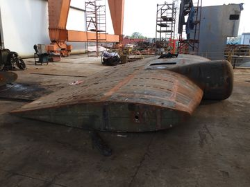 China Marine Flap Rudder System Ships Rudder Plates And Rudder Leafs supplier