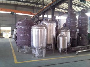 China Stainless Steel Water Treatment Pressure Vessel Tank Customized supplier