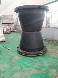 China Convenient Cone Type Rubber Fender Marine Fendering Durable 15 Years supplier