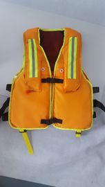 China Customized Emulsified Foam Marine Life Saving Equipment Safety Inflatable Life Jackets supplier