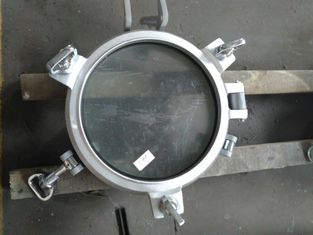 China Marine Weathertight Aluminium Fixed Marine Porthole Windows Side Scuttle supplier