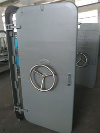 China A60 Marine Access Doors Fire Proof Single Leaf Wheel Handle Watertight Steel Doors supplier