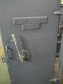 China Clips Quick Opening Weathertight Marine Access Doors with Steel Single Handle supplier
