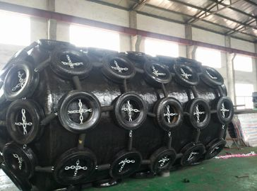China Marine Fender Floating Inflatable Pneumatic Rubber Fender Ship / Dock Fenders supplier