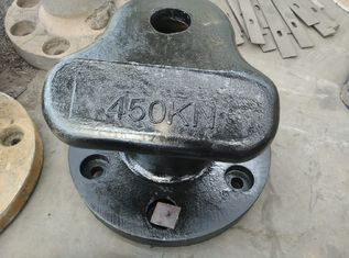 China Marine Grey Cast Iron / Cast Steel / Mild Steel Single Mooring Bollard supplier