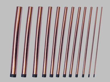 China Direct Current Round Carbon Rods , Direct Current Rectangular Carbon Rods supplier