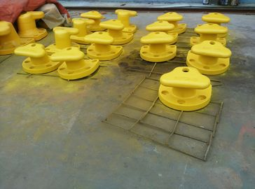 China Marine Cast Iron Steel / Mild Steel Tee Head Mooring Bollard With Epoxy Primer Surface supplier