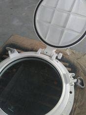 China Bolted Type Openable Marine Porthole Marine Windows Side Scuttle With Storm Cover supplier
