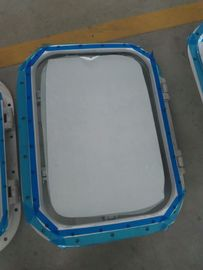 China Marine Bolted Type Installation Aluminum Wheel House Marine Windows For Ships supplier