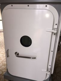 China Quick Acting Single Handle Marine Doors A60 Fire Proof Weathertight Ship Door supplier