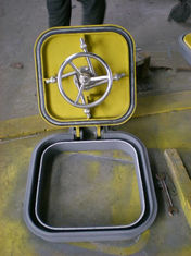 China Quick Action / Dog Clips Marine Hatch Cover Marine Steel Weathertight Hatch supplier