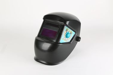 China Auto Darkening Nylon Welding Helmet Welding Consumables With Replaceable Battery supplier