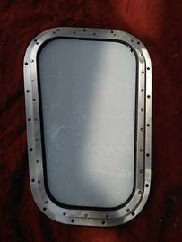 Marine Weathertight Aluminum Rectangular Tugboat Fixed Wheelhouse Windows