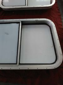 China Bolted / Welded Rectanglar Marine Windows / Marine Ships Aluminum Alloy Window supplier