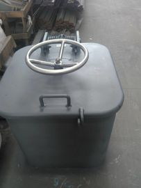 China Fire Proof Weathertight Steel Small Boat Hatch Covers Marine Wheel Handle Opening supplier