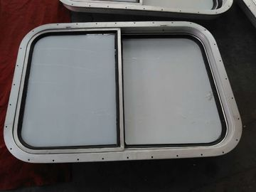 China Bolted Installation Replacement Marine Sliding Wheel House Aluminum Window supplier