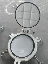 China Fixed Model Portlights Marine Windows Marine Ships Scuttle Window With Storm Cover supplier