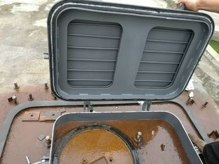 China Marine Ships Engine Room Skylight Hatch Marine Steel Weathertight Hatch Covers supplier