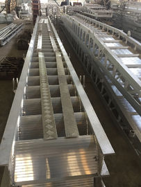 China Fixed Arch Steps / Aluminum Alloy marine boarding steps Accommodation Ladder supplier