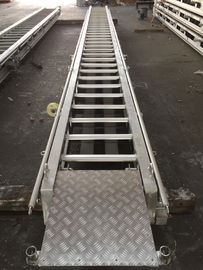 China Stainless steel boat ladder LR Approval Marine Aluminum Alloy Fixed supplier