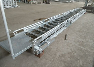 China Marine Accommodation Ladder Ships Fixed Aluminum Material Boarding Ladder supplier
