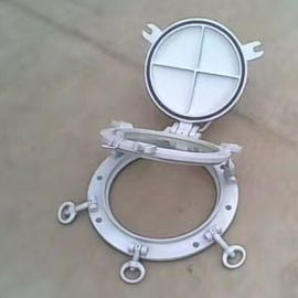 China Marine Openable Portlights Marine Ships Weathertight Portholes With Storm Cover supplier