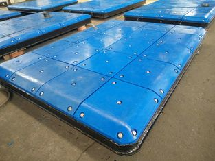 China Marine Fendering System Impingement Plate With PE Face Pads , Marine Panels supplier
