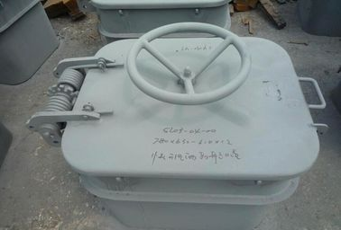 A60 Fireproof Quick Acting Watertight Hatch Cover With Wheelhandle For Marine Ships
